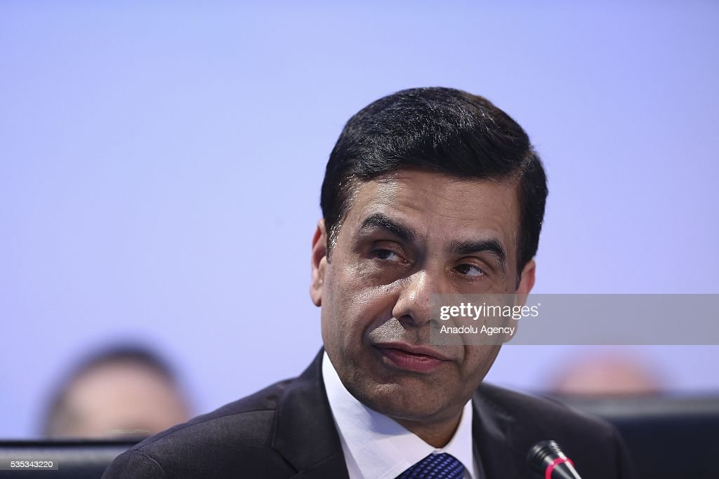United Nations Under-Secretary-General and High Representative for the Least Developed Countries, Gyan Chandra Acharya attends the last session of the Midterm Review of the Istanbul Programme of Action for the Least Developed Countries in Antalya, Turkey on May 29, 2016.