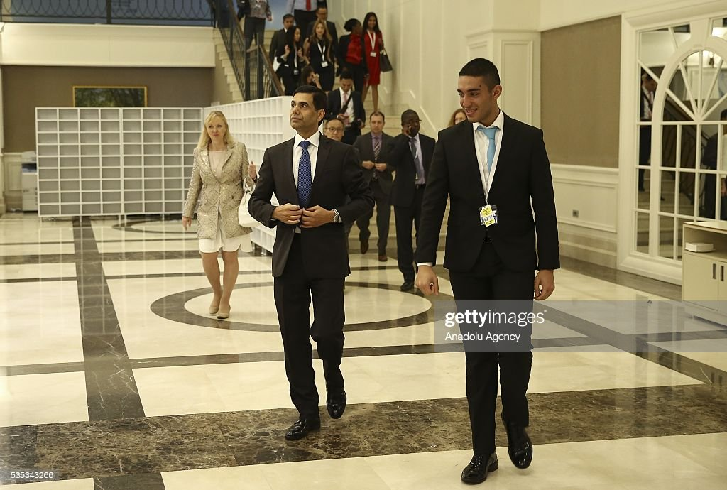 United Nations Under-Secretary-General and High Representative for the Least Developed Countries, Gyan Chandra Acharya is seen after the last session of the Midterm Review of the Istanbul Programme of Action for the Least Developed Countries in Antalya, Turkey on May 29, 2016.