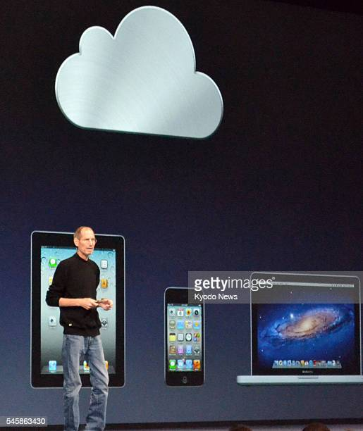 SAN FRANCISCO United States Apple Inc Chief Executive Officer Steve Jobs delivers a speech at the Apple Worldwide Developers Conference in San...