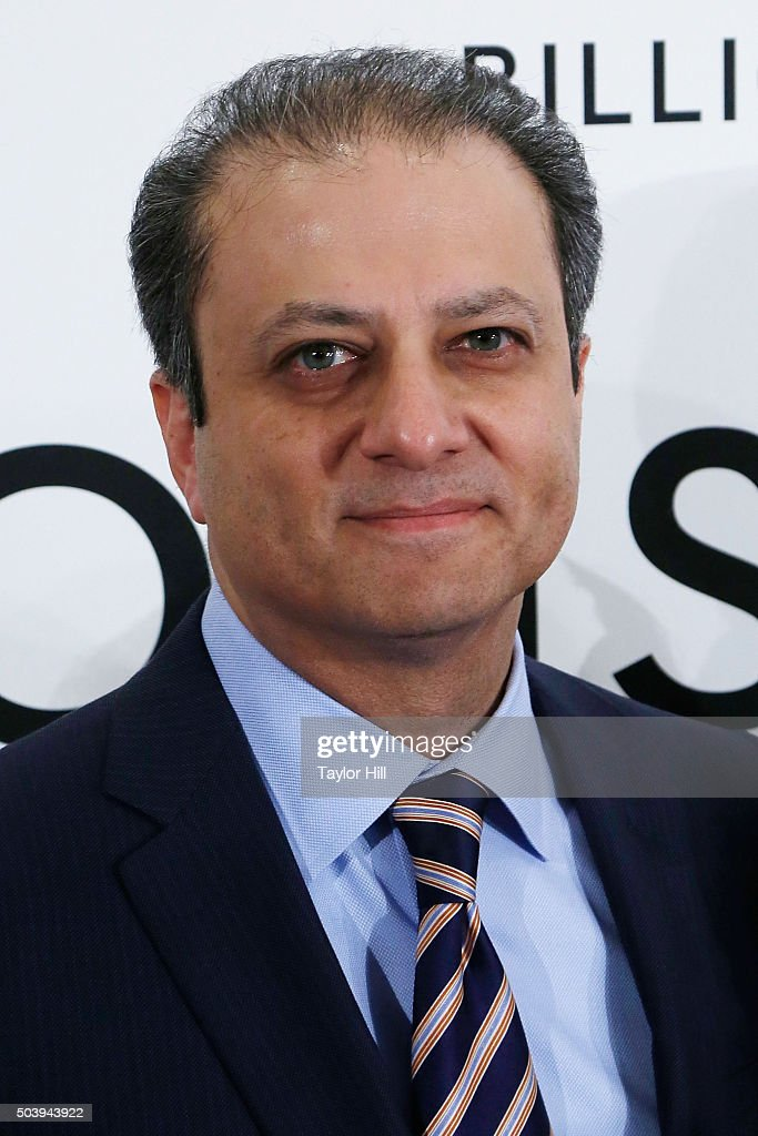 United States Attorney for the Southern District of New York Preet Bharara attends Showtime's 'Billions' series premiere at Museum of Modern Art on...