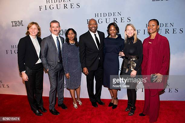 United States Chief Technology Officer Megan Smith Canadian astronaut Chris Hadfield NASA astronaut Stephanie Wilson former NASA astronaut Leland...