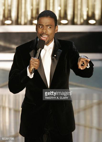 Comedian Chris Rock opens the 77th Academy Awards show 27 February at the Kodak Theater in Hollywood California AFP PHOTO/Timothy A CLARY