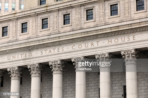 United States Court House, Carved in Granite