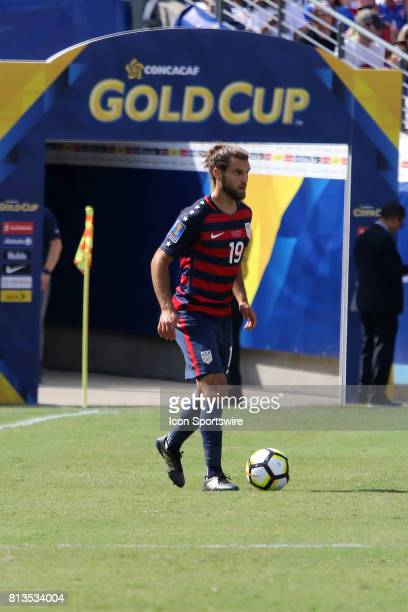 United States defender Graham Zusi at the group stage match of the CONCACAF Gold Cup between the United States and Panama on July 08 2017 The United...