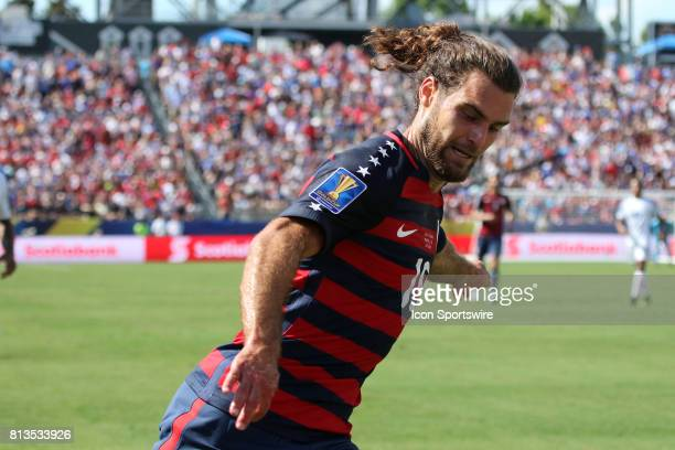 United States defender Graham Zusi in the group stage match of the CONCACAF Gold Cup between the United States and Panama on July 08 2017 The United...