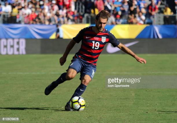 United States defender Graham Zusi in the group stage of the CONCACAF Gold Cup match between the United States and Panama The United States and...