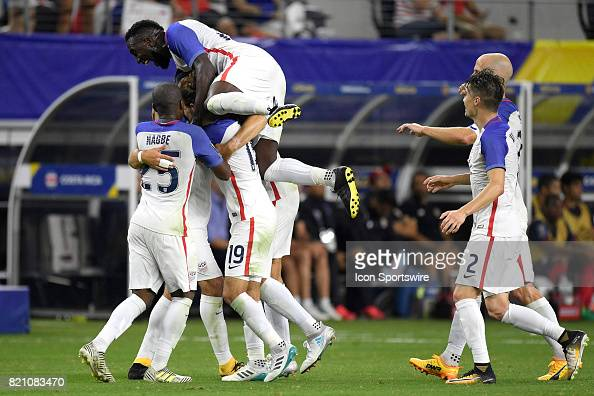 SOCCER: JUL 22 CONCACAF Gold Cup Semifinal - United States v Costa Rica : News Photo