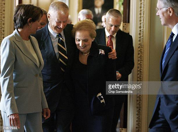 United States House of Representatives Minority Leader Nancy Pelosi former Carter National Security Advisor Zbigniew Brzezinski former Clinton...