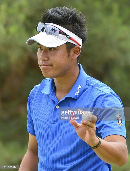 ARDMORE United States Japanese golfer Hideki Matsuyama acknowledges the gallery after birdying in the 10th hole of the final round of the US Open...