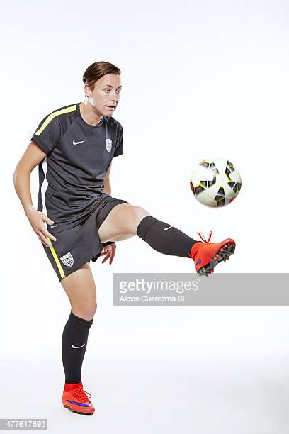 United States National Soccer team member Abby Wambach is photographed for Sports Illustrated on May 2 2015 in Newport Beach California PUBLISHED...