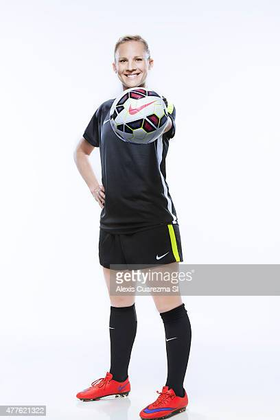 United States National Soccer team member Amy Rodriguez is photographed for Sports Illustrated on May 2 2015 in Newport Beach California PUBLISHED...