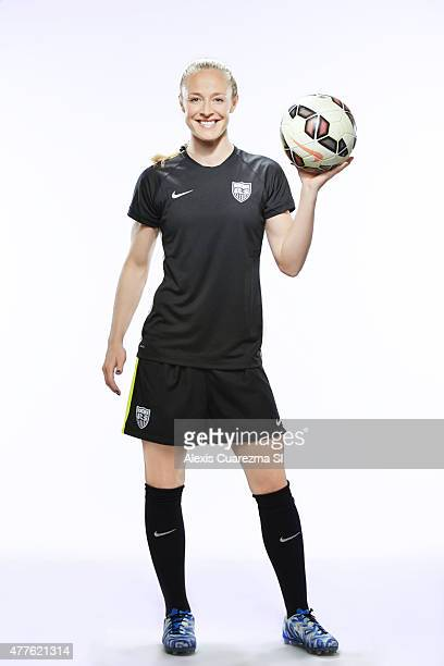 United States National Soccer team member Becky Sauerbrunn is photographed for Sports Illustrated on May 2 2015 in Newport Beach California PUBLISHED...