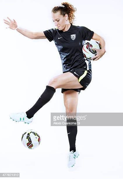 United States National Soccer team member Lauren Holiday is photographed for Sports Illustrated on May 2 2015 in Newport Beach California PUBLISHED...