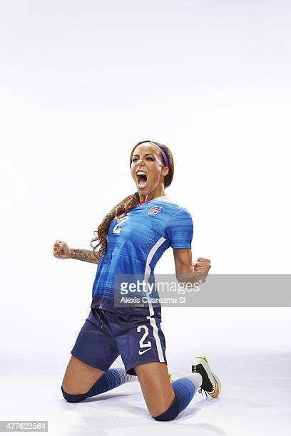 United States National Soccer team member Sydney Leroux is photographed for Sports Illustrated on May 2 2015 in Newport Beach California PUBLISHED...