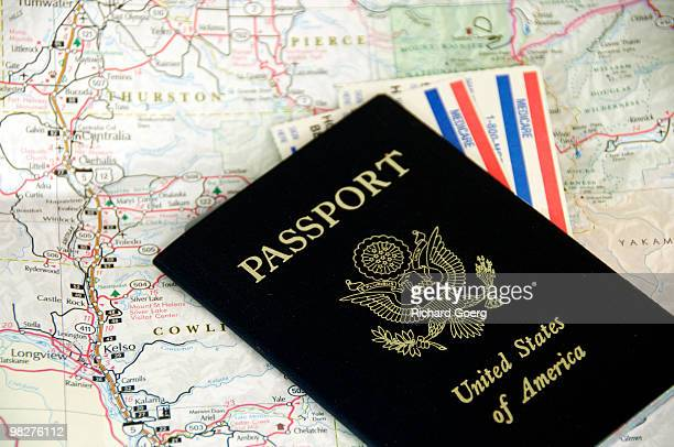 United States Passport and Medicare Cards