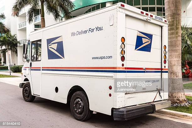 United States Post Office mail truck