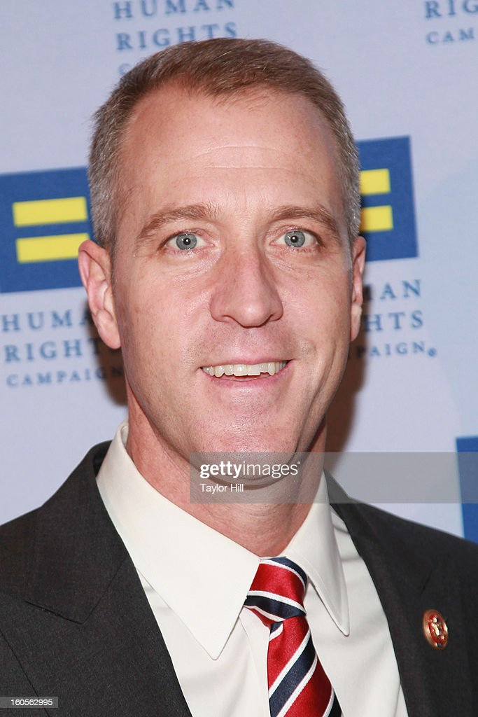 United States Representative Sean Patrick Maloney, D-NY-18, attends The 2013 Greater New York Human Rights Campaign Gala at The Waldorf=Astoria on February 2, 2013 in New York City.