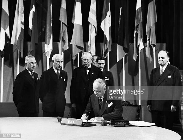 United Nations Charter Stock Photos and Pictures | Getty ...