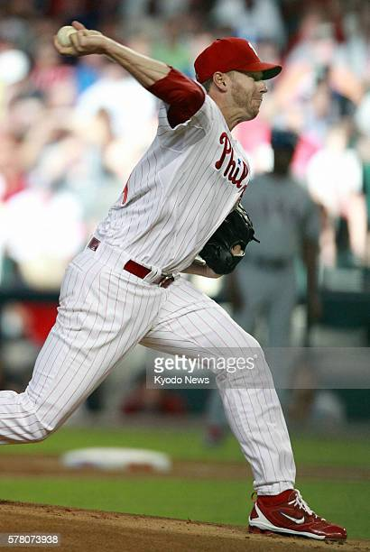 PHOENIX United States Roy Halladay of the Philadelphia Phillies starts for the National League in Major League Baseball's 82nd AllStar game at Chase...