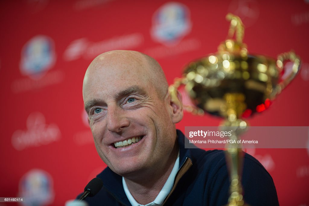 Jim Furyk Announced As United States Captain For 2018 Ryder Cup