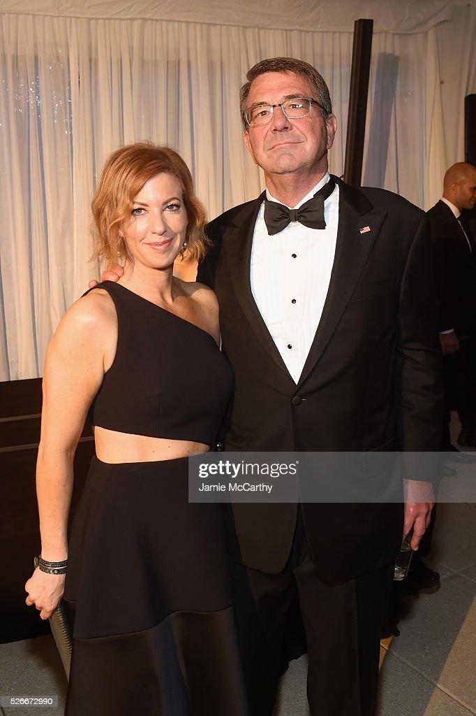 United states secretary of defense ash carter and stephanie carter