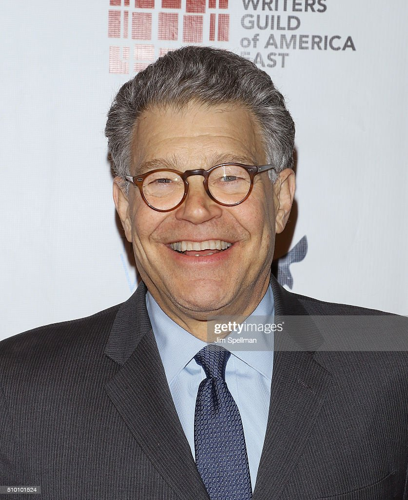 United States Senator <a gi-track='captionPersonalityLinkClicked' href=/galleries/search?phrase=Al+Franken&family=editorial&specificpeople=167079 ng-click='$event.stopPropagation()'>Al Franken</a> attends the 2016 Writers Guild Awards New York ceremony at The Edison Ballroom on February 13, 2016 in New York City.