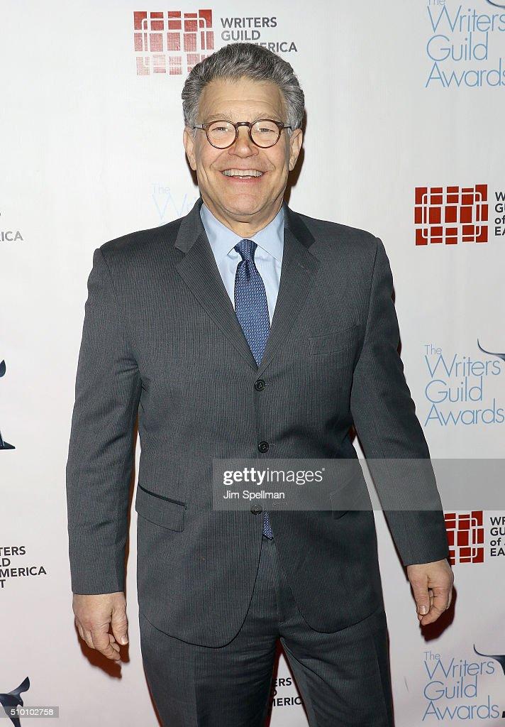 United States Senator Al Franken attends the 2016 Writers Guild Awards New York ceremony at The Edison Ballroom on February 13 2016 in New York City