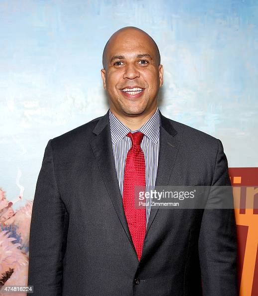 United States Senator Cory Booker attends The Time In Children's Arts Initiative Event With Performance By Anthony McGill The Momenta Quartet on May...
