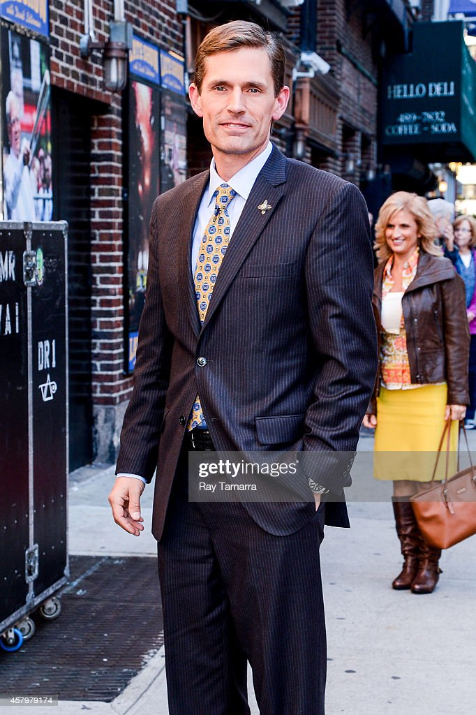 """Celebrities Visit """"Late Show With David Letterman"""" - October 27, 2014"""