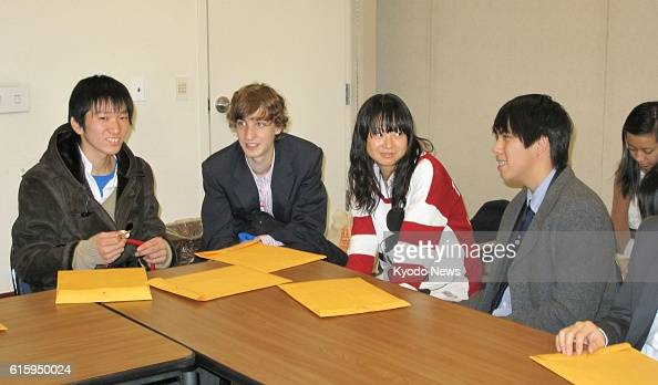 NEW YORK United States Students from Itami High School in Japan and Baruch College Campus High School in the United States meet Dec 13 at the...