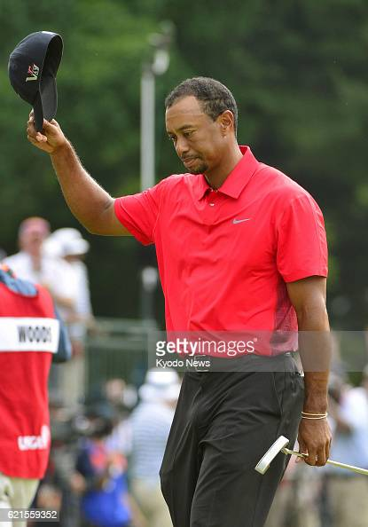 ARDMORE United States US golfer Tiger Woods is pictured after the final round of the US Open championships at Merion Golf Club in Ardmore...