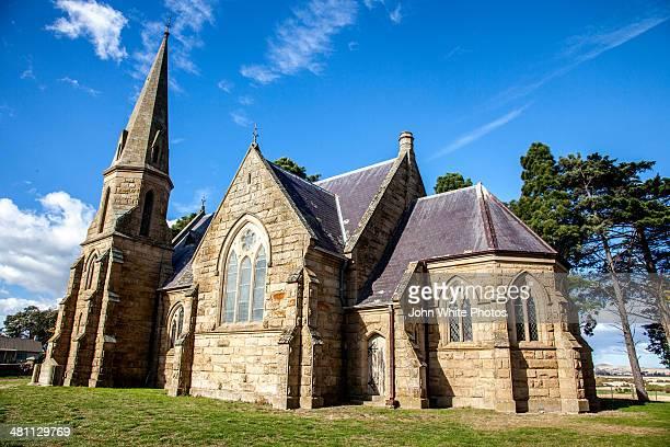 Uniting church at Ross. Tasmania. Australia
