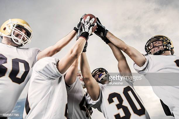 Unity of American football players.