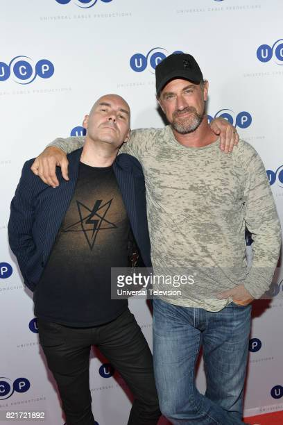DIEGO 'Universal Cable Productions Talent Party' Pictured Grant Morrison Christopher Meloni