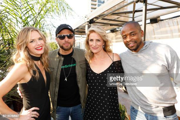 DIEGO 'Universal Cable Productions Talent Party' Pictured Maggie Lawson James Roday Kirsten Nelson and Dulé Hill