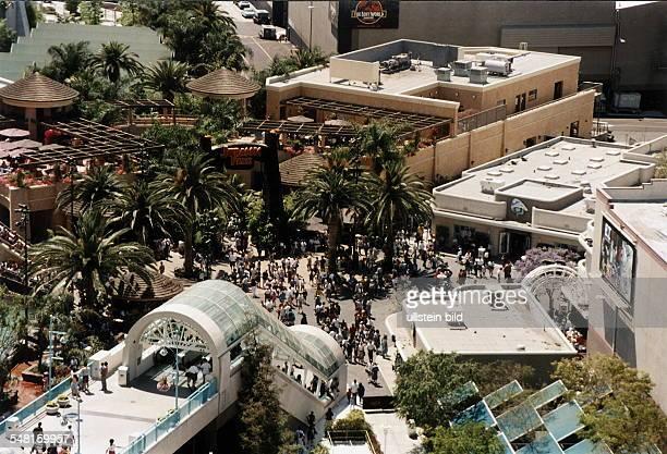 Universal City / Universal Studios Blick aus erhöhter Sicht Mai 1997