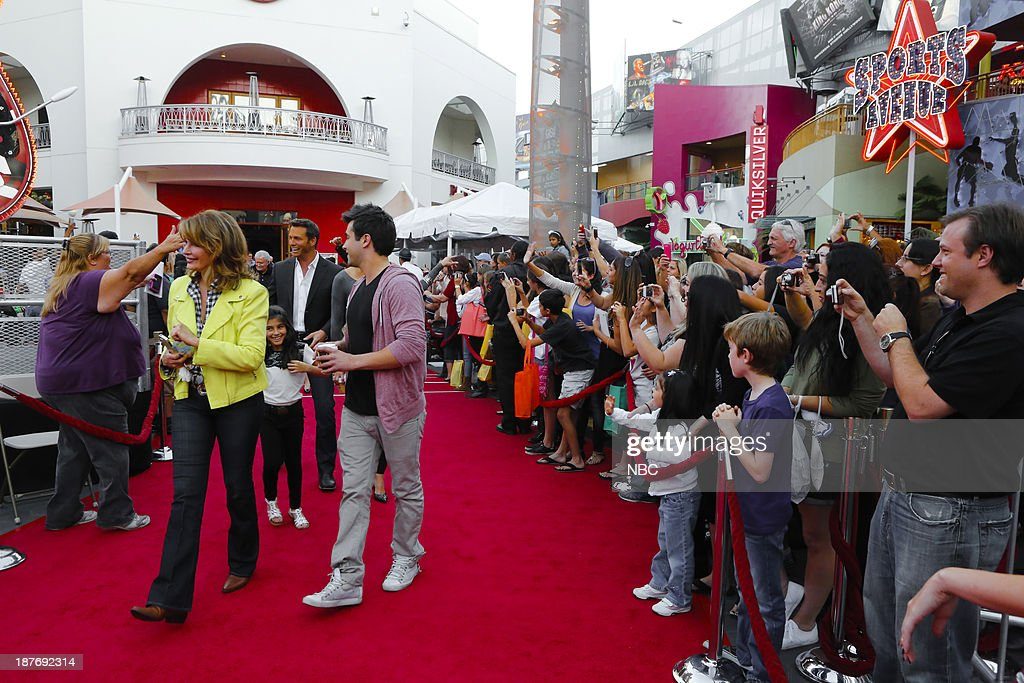 LIVES -- 'Universal Fan Event' -- Pictured: Fans arrive at the Universal City Fan Event on November 9, 2013 --