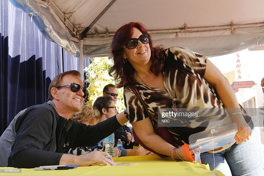 LIVES -- 'Universal Fan Event' -- Pictured: (left) Josh Taylor at the Universal City Fan Event on November 9, 2013 --