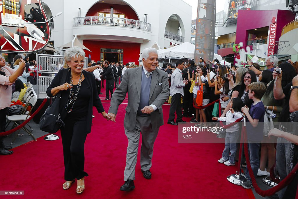 LIVES -- 'Universal Fan Event' -- Pictured: (l-r) Susan Seaforth Hayes, Bill Hayes at the Universal City Fan Event on November 9, 2013 --