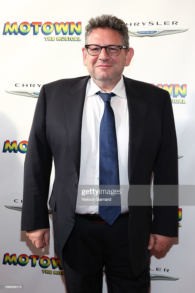 Universal Media Group Chairman & CEO <a gi-track='captionPersonalityLinkClicked' href=/galleries/search?phrase=Lucian+Grainge&family=editorial&specificpeople=813742 ng-click='$event.stopPropagation()'>Lucian Grainge</a> attends the Broadway opening night for 'Motown: The Musical' at Lunt-Fontanne Theatre on April 14, 2013 in New York City.