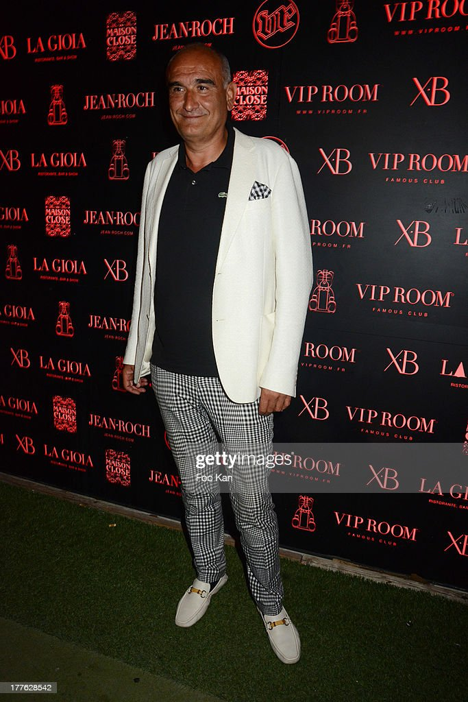 Universal Music France CEO <a gi-track='captionPersonalityLinkClicked' href=/galleries/search?phrase=Pascal+Negre&family=editorial&specificpeople=850105 ng-click='$event.stopPropagation()'>Pascal Negre</a> attends the VIP Room on August 24, 2013 in Saint Tropez, France.