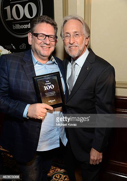 Universal Music Group Chairman/CEO Lucian Grainge and National Academy of Recording Arts and Sciences President Neil Portnow attend the Billboard...