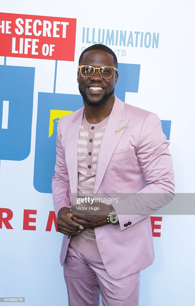 Universal Pictures and Illumination Entertainment Present the Premiere of THE SECRET LIFE OF PETS attended by Kevin Heart at David H. Koch Theater, Lincoln Center on June 25, 2016 in New York City.