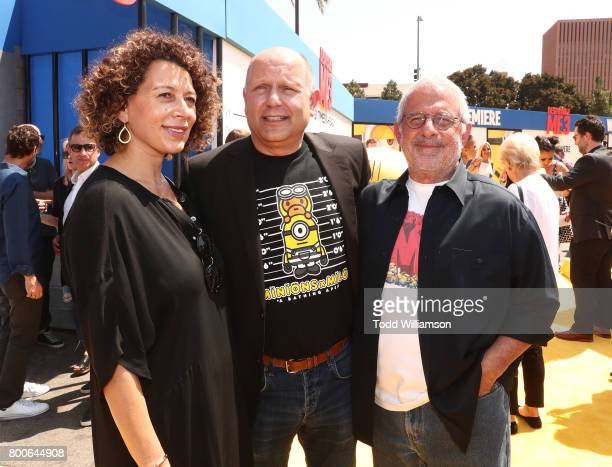 Universal Pictures Chairman Donna Langley CEO of Illumination Entertainment and Producer Chris Maledandri and NBCUniversal Vice Chairman Ron Meyer...