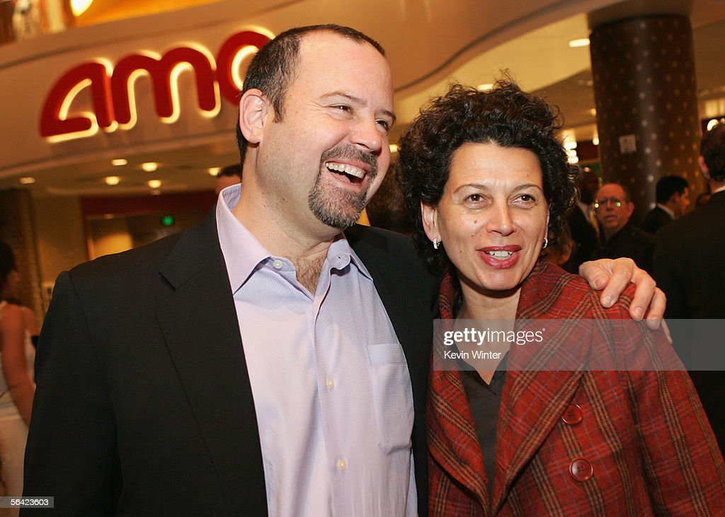 Universal Pictures Vice Chairman Marc Shmuger and Universal President of Production Donna Langley arrive for the Los Angeles premiere of 'The...