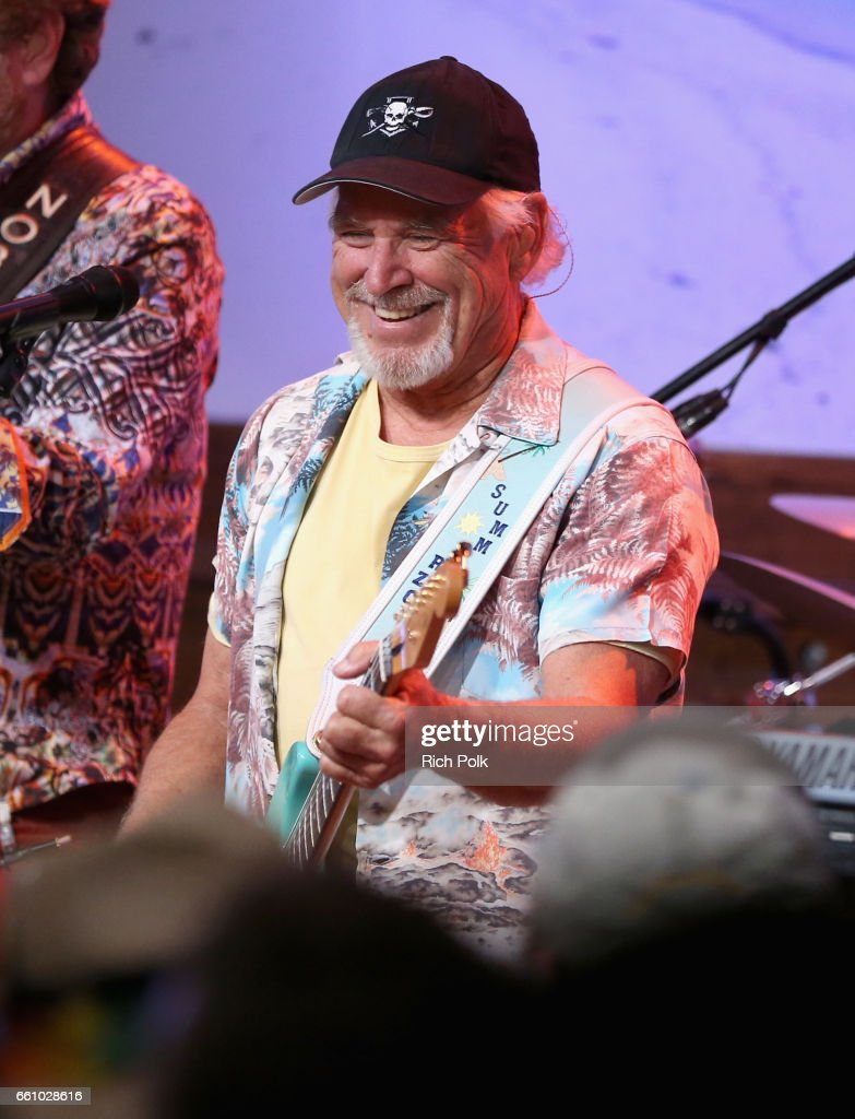 Universal Studios Hollywood toasted the arrival of Jimmy Buffett's Margaritaville restaurant to Universal CityWalk, with an exciting performance by Jimmy Buffett and the Coral Reefer Band on March 30, 2017 in Los Angeles, California.