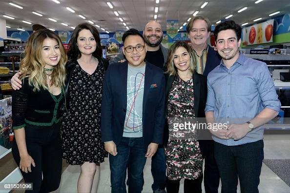 EVENTS 'Universal Television TCA Studio Day' Pictured Nichole Bloom Lauren Ash Nico Santos Colton Dunn America Ferrera Mark McKinney Ben Feldman...