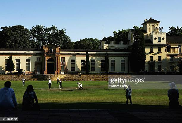 Universities play Bankstown in a Sydney Women's Third Grade match at Sydney University on October 7 2006 in Sydney Australia This weekend of the...