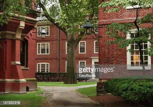 University campus, Harvard