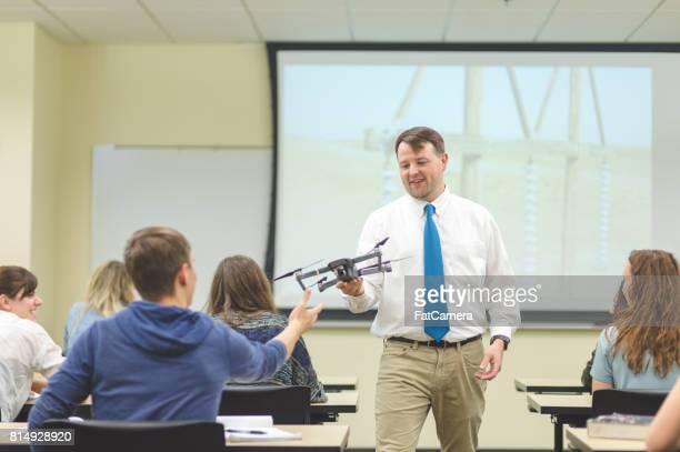 University en configuration salle de classe